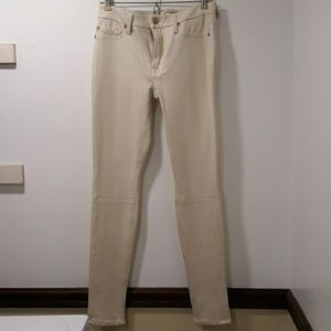 Cream 7 For All Mankind Pants